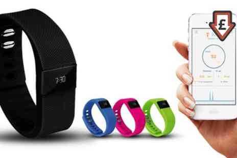 Groupon Goods Global GmbH - Aquarius Bluetooth Fitness and Activity Tracker - Save 75%