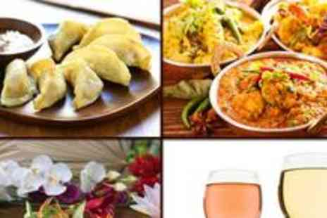 The Everest - Two-course Nepalese meal for two, plus a glass of wine or bottle of beer each - Save 67%