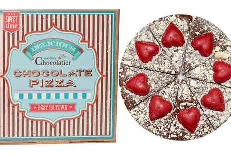 Groupon Goods Global GmbH - One or Two Valentine's Day Chocolate Pizzas - Save 33%
