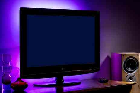 Groupon Goods Global GmbH - One or Two Auraglow USB TV Backlights - Save 50%