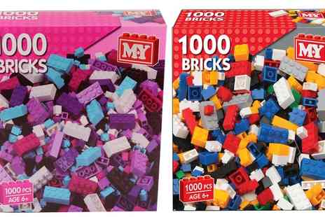 Groupon Goods Global GmbH - One or Two 1000 Piece Toy Building Brick Sets - Save 47%