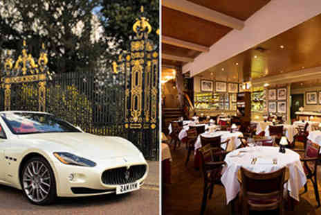 Marco Pierre Whites - Meal with City and Maserati Cruise for Two - Save 0%