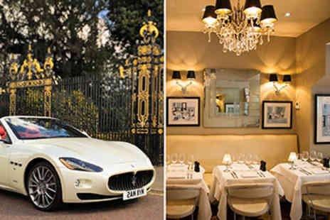 Marco Pierre Whites - Meal with Chelsea and Maserati Cruise for Two - Save 0%