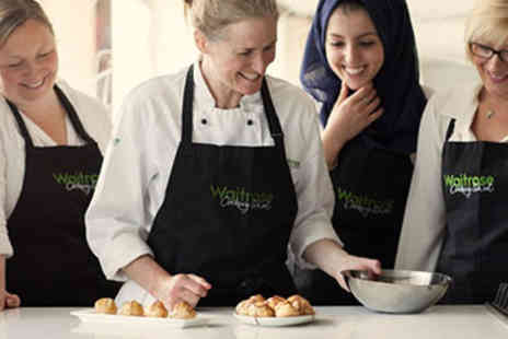 Waitrose Cookery School - Full Day Cookery Course for Two - Save 0%