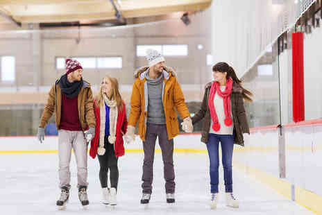 Deeside Ice Rink - Session of ice skating for one, two or family of four - Save 40%