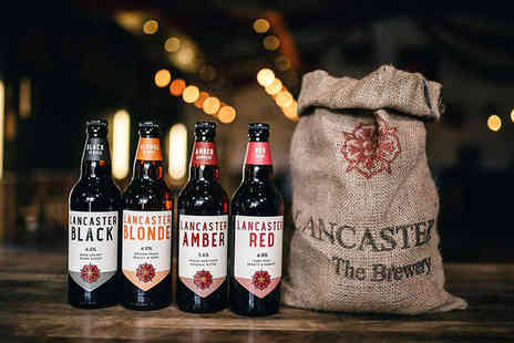 Lancaster Brewery - Brewery tour with handmade pork pies, pickles and up to three pints each - Save 67%