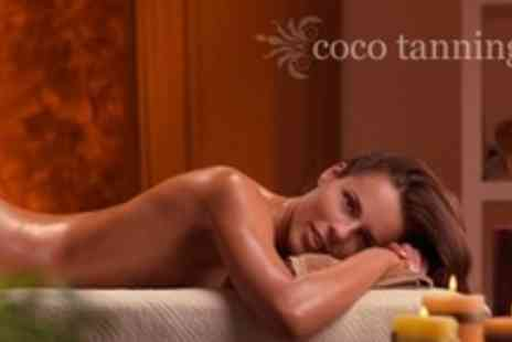 Coco Tanning & Beauty Rooms - One Hour Hydrotherm Massage or Full Body Aromatherapy Massage - Save 64%
