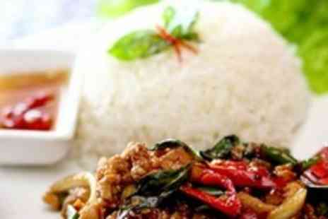 The Orchid Thai Cuisine - Four Course Thai Meal For Two - Save 60%