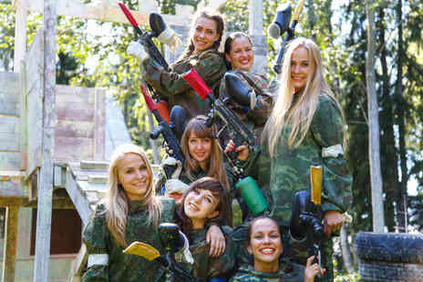 Skirmish PaintBall Games - Paintballing experience for five, ten or twenty people - Save 95%