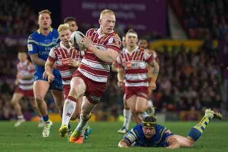 Wigan Warriors - Adult and child ticket to see Wigan Warriors vs Cronulla Sharks on 19th February - Save 35%