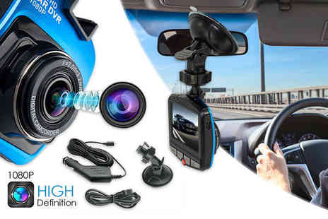 Toy Meets World - HD dash cam or a camera with 32GB memory card - Save 84%