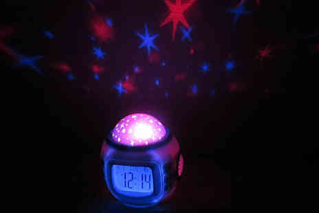 Zoozio - Starlight projector clock sleep under the stars - Save 84%
