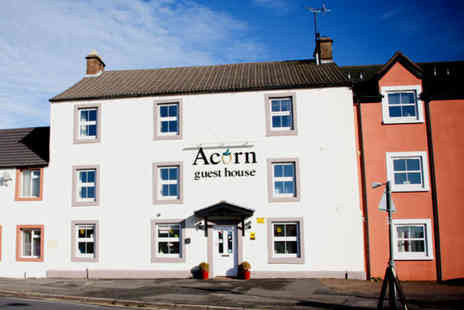 Acorn Guest House - Two night Cumbrian stay including breakfast, two course dining and a bottle of Prosecco for two - Save 59%