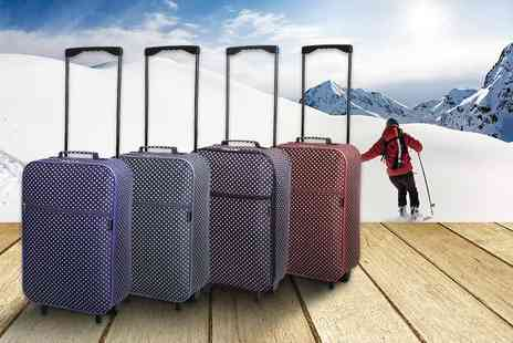 Karabar - Slimbridge cabin approved hand luggage choose from four fun styles - Save 67%