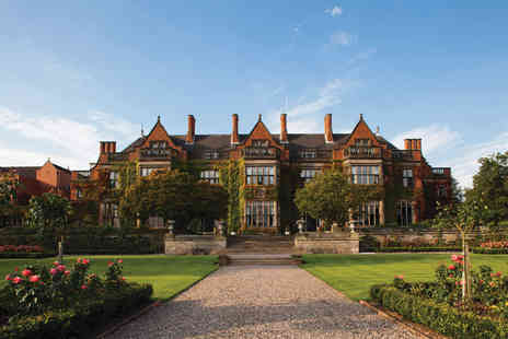 Hoar Cross Hall Spa Hotel - Spa day and three course lunch for one or two - Save 34%
