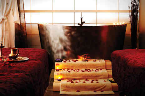 Antara Spa - Four hour spa day for two with treatments, a three course candlelit lunch, bubbly and gift pack for two - Save 44%