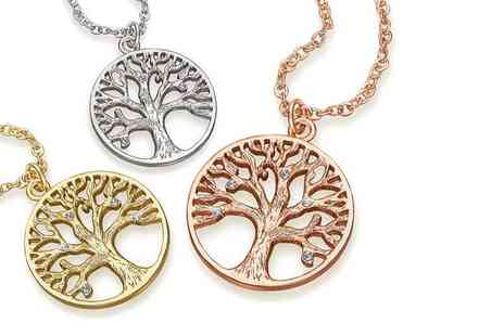 The Gemseller - Tree of life pendant necklace - Save 90%