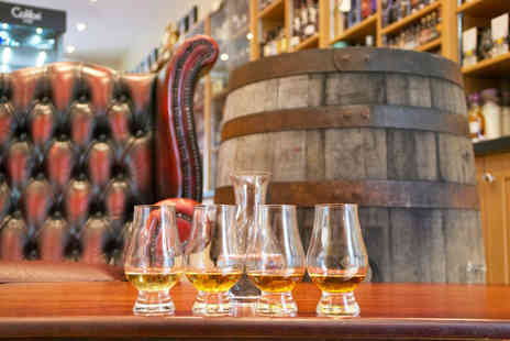 Jeffrey St Whisky and Tobacco - One hour whisky tasting experience for one or deluxe tasting - Save 32%