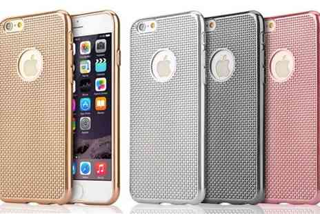 Groupon Goods Global GmbH - Silicone Ribbed Case for iPhone 6 or 6 Plus - Save 58%