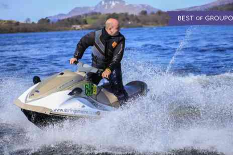 Jetski Safari Lochlomond - 20 Minute Jet Ski Session for One or Two - Save 51%
