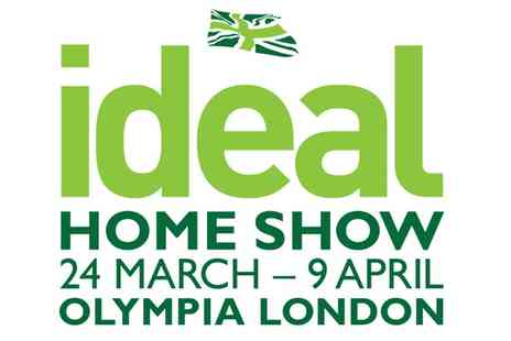 The Ideal Home Show - Two tickets to The Ideal Home Show plus one magazine on 24 March To 9 April - Save 53%