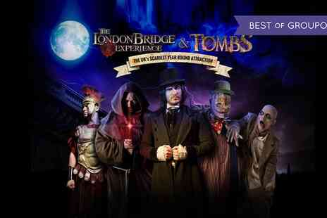 The London Bridge Experience - One adult or junior ticket to London Bridge and Tombs Experience - Save 48%