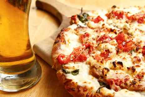 73 and Pizza - Pizza and Craft Beer Each for Two or Four - Save 0%