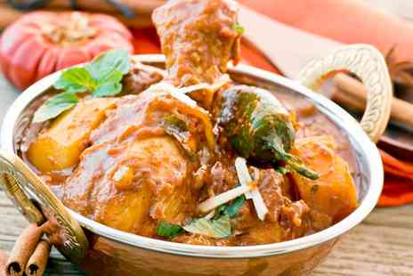 Cafe India - Two or Three Course Indian Meal for Two or Four - Save 60%