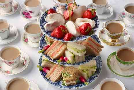 Gracie Anns Tearooms - Afternoon Tea with Free Flowing Tea or Coffee or a Soft Drink for Up to Six - Save 46%