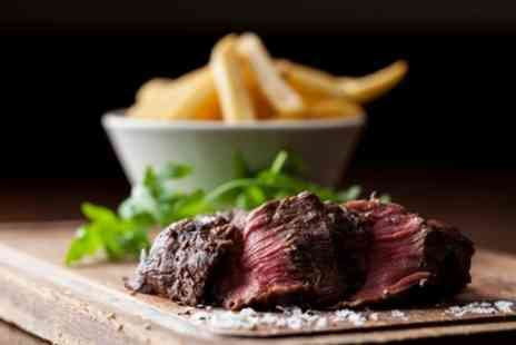 Ferraris - Tagliata Steak and Chips with a Glass or Bottle of Wine and Coffee for Up to Four - Save 53%