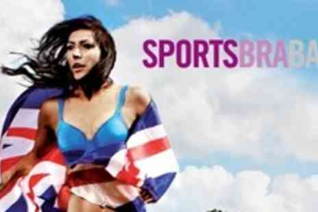 SportsBraBar - £20 for £40 to Spend on Branded Sports Bras - Save 50%