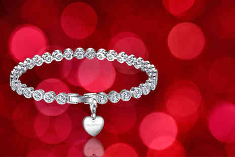 Your Ideal Gift - Crystal bracelet choose from 15 charm designs - Save 89%