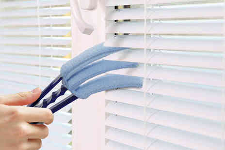 Ckent - Multi head venetian blind cleaner with removable sleeve - Save 63%
