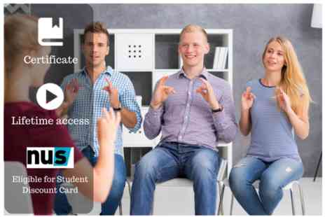 OfCourse - Deaf awareness & sign language course bundle - Save 84%