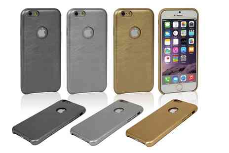 Groupon Goods Global GmbH - Leather Effect Cases with Velvet Lining for iPhone - Save 55%