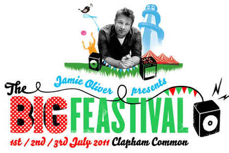 The Big Feastival - Pay £14 for a ticket to Jamie Oliver's The Big Feastival usually £35 - Save 60%
