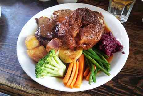 The Wheatsheaf - Sunday Roast with Dessert for Two or Four - Save 55%