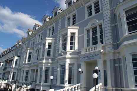 Llandudno Bay Hotel - Afternoon Tea with Prosecco for Two - Save 44%
