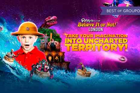 Ripleys Believe it or not - One ticket to Ripleys Believe It or Not On 24 January To 31 March - Save 54%