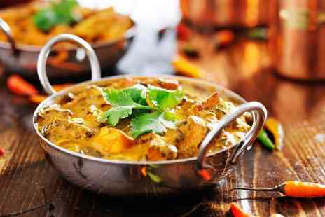 The Chilli Lodge - Two Course Indian Meal For Two or Four - Save 38%