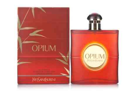 Groupon Goods Global GmbH - 50ml or 90ml Yves Saint Laurent Opium EDT Spray With Free Delivery - Save 14%