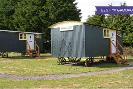 Drusillas Inn - Up to Three Night Shepherds Hut Stay for Two with Breakfast - Save 0%
