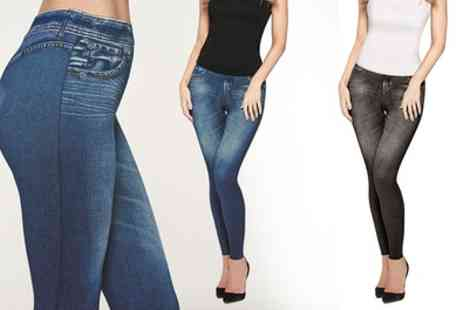 Groupon Goods Global GmbH - JML Trim n Slim Effect Jeans - Save 53%