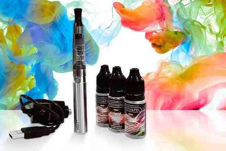 The Vapour Maker - Quit smoking e cigarette starter kit select three e liquids - Save 71%