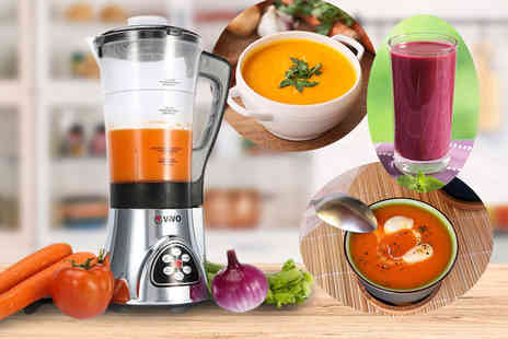 ViVo Technologies - 2 in 1 soup and smoothie maker - Save 52%