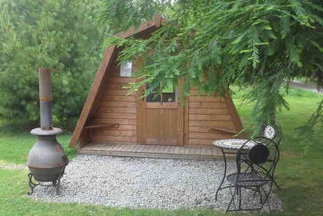 Greenway Touring & Glamping Park - Two or three night glamping stay for two - Save 22%