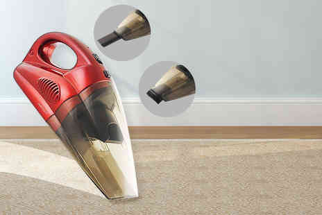 SHS Trading - 45W rechargeable cordless wet and dry vacuum cleaner - Save 63%