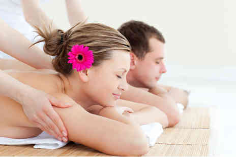 K Levels Photography - One hour couples massage or include a 30 minute express facial each - Save 64%