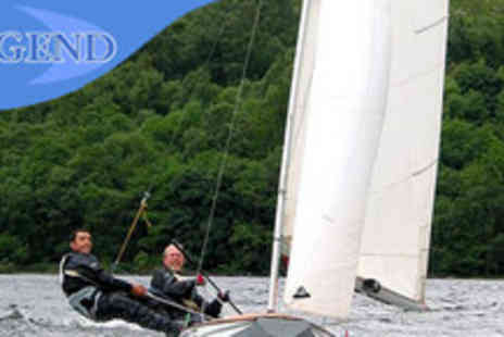 Legend Sailing - Two hour sailing lesson on Loch Tay plus £50 off the cost of a 5 day RYA course - Save 62%