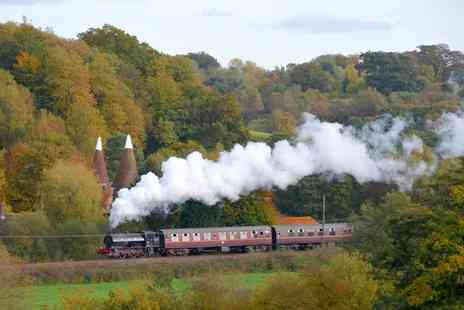 Spa Valley Railway - Return Ticket from Tunbridge Wells West to Groombridge or Eridge for Two or a Family - Save 50%